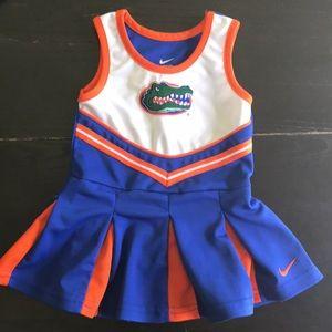 Nike Florida Gator Toddler Cheer Dress- 24M